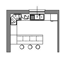 piano snack / colazione, piano appgoggio) un tavolo anche piccolo e da ...