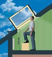 Finestre per tetti Fakro superlucernario