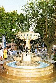 Fontana in Santafiora