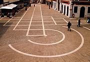 Piazza rivestita in pietra Santafiora a Pordenone