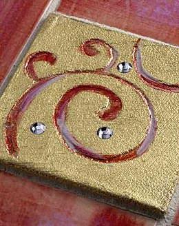 Maestri Majolicari: lyric-gold con-cristalli