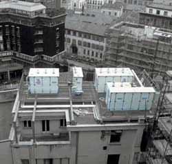 Moduli installati su tetto