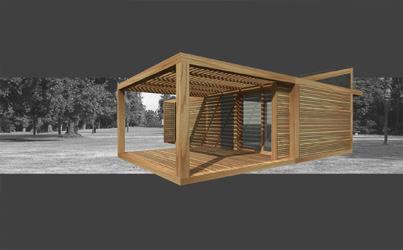Case in legno modulari