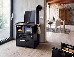 Stufe e cucine a pellet for Stufe combinate legna pellet palazzetti