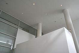 Museo dell'Ara Pacis, utilizzo di lastre in gesso