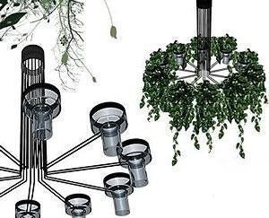 Gumdesign: lampadario Flora