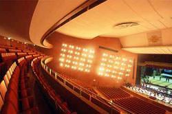 Teatro degli Arcimboldi, utilizzo di lastre in gesso