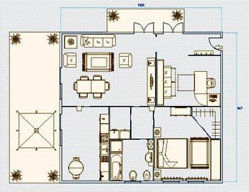 Cupolino per tetti piani - Finestre scorrevoli pianta ...