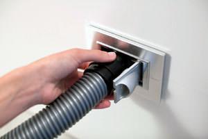 Rimuovere la polvere: presa Sirio New Air