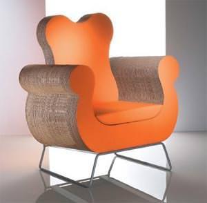 Materiali nuovi per sedute: Polly di Kubedesign