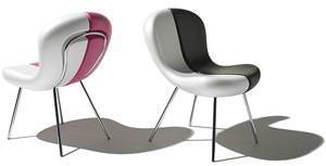 Materiali nuovi per sedute:  Snap Chair di Karim Rashid
