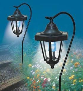 SET DI 2 LAMPIONCINI AD ENERGIA SOLARE CON GANCIO: Sunshine project
