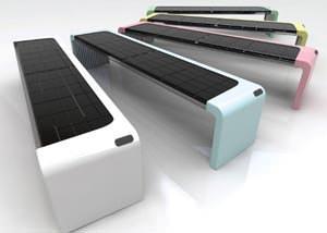 Panchina solare: Solar Inside