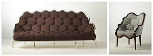 Fratelli Boffi: divano e poltrona Lui6