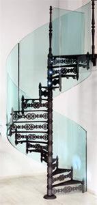 Modus: scala a chiocciola Glass
