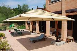 Eden Garden: ombrellone con Split Solution