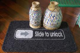 Zerbino Slide to unlock