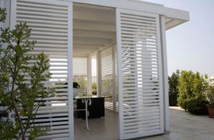 Pannelli frangivento - Pannelli divisori giardino ...
