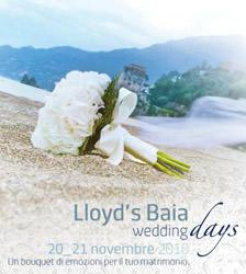Lloyd's Baia Wedding Days