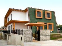 Casa Passiva di BLM Domus - vista dall'esterno