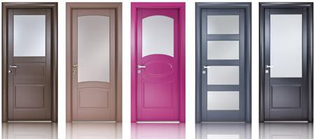Colore nelle porte da interni - Colori da interno ...