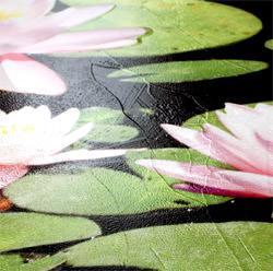 motivo green per pavimento in resina