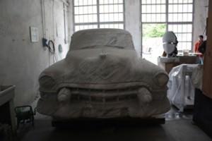 realizzazione in marmo di Carrara