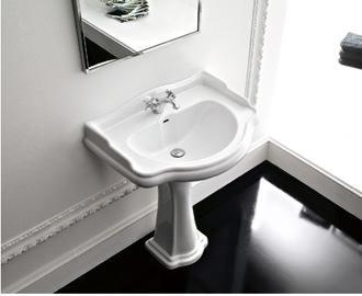 Stile classico in bagno