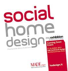 Social Home Design: locandina