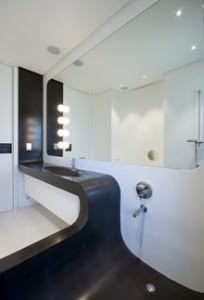 uno dei bagni di Casa-O