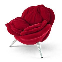 Poltrone a fiore for Imitazione poltrone design