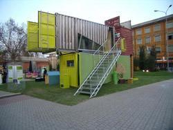 Container abitativo green for Container house prezzi