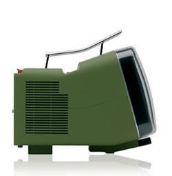 Brionvega tv verde miliitare