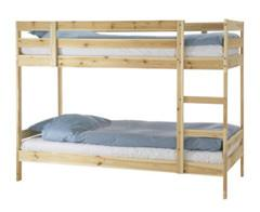 Letto a castello Mydal di Ikea