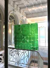 Altare Vetro Arte: un'opera all'interno del Museo del vetro
