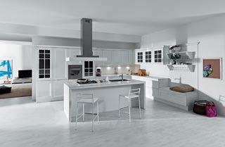 Bianco in cucina - Aran cucine ylenia ...