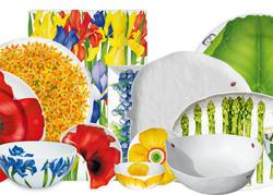 Taitù piatti e ceramiche floreali per la casa
