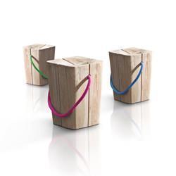 sgabello di legno Emo design