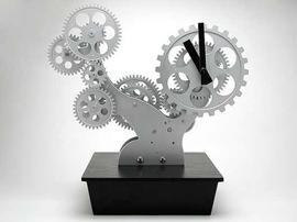 Vsion Coax, Bonsai Gear Clock
