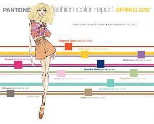 Pantone spring 2012
