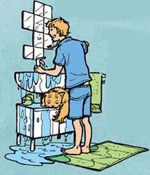 non sprecare acqua