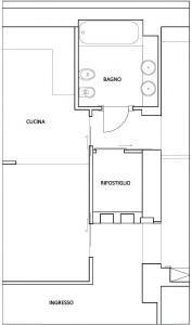 disegno 3, nel corridoio