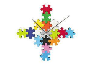 Puzzle DIY, orologio da parete