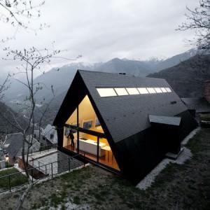 casa sui Pirenei