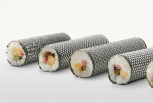 alga decorata, sushi design