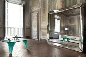 specchio Caadre di Philippe Starck per Fiam