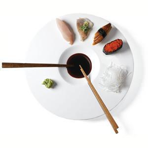 Sushi Time, set di piatti Mint nyc