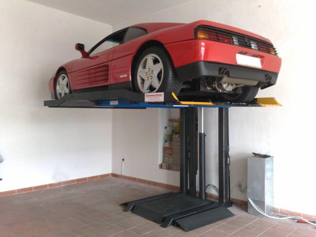 Sollevatore auto per box for Costo del garage di due auto