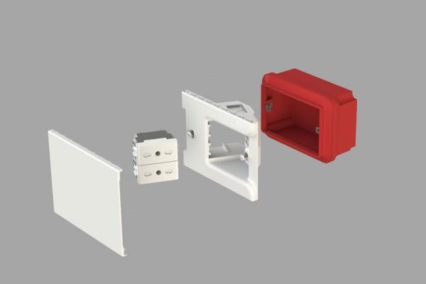 Rinnovare placche elettriche for Placche prese elettriche