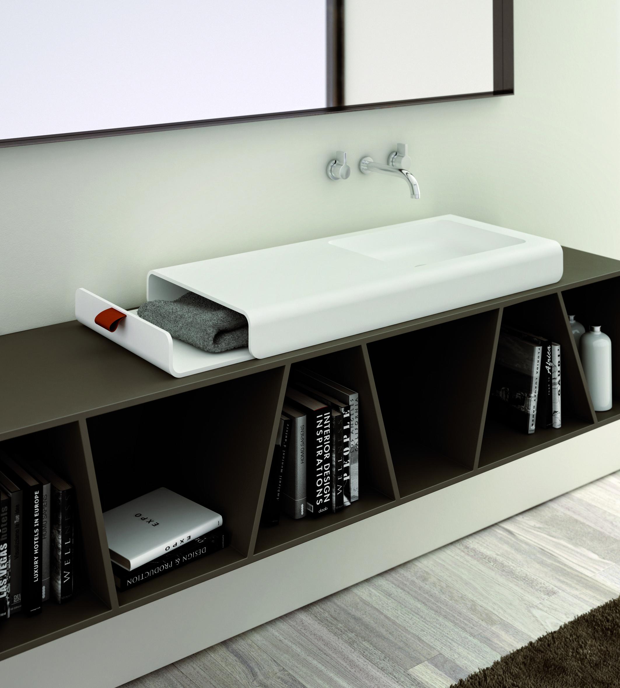 frutto della collaborazione con il giovane duo di designer emo design composto da lukasz bertoli e francesco costacurta il lavabo si chiama split